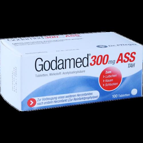 Verpackungsbild(Packshot) von GODAMED 300 mg TAH Tabletten