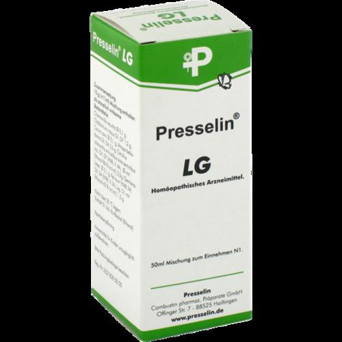 Verpackungsbild(Packshot) von PRESSELIN LG Leber Galle Tropfen