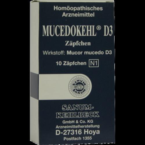 Verpackungsbild(Packshot) von MUCEDOKEHL D 3 Suppositorien