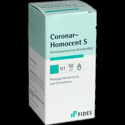 Verpackungsbild(Packshot) von HOMOCENT Coronar S Tropfen
