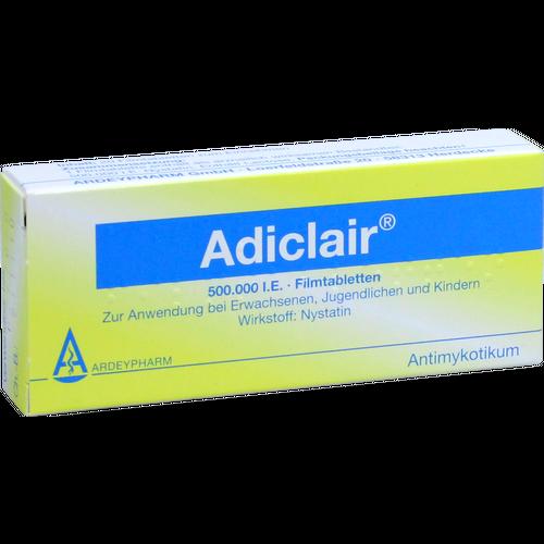 Verpackungsbild(Packshot) von ADICLAIR Filmtabletten