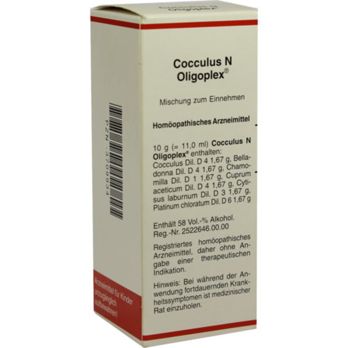 Verpackungsbild(Packshot) von COCCULUS N Oligoplex Liquidum