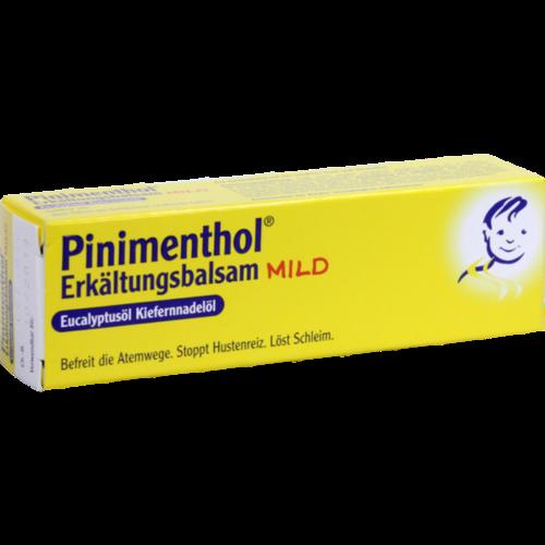 Verpackungsbild(Packshot) von PINIMENTHOL Erkältungsbalsam mild