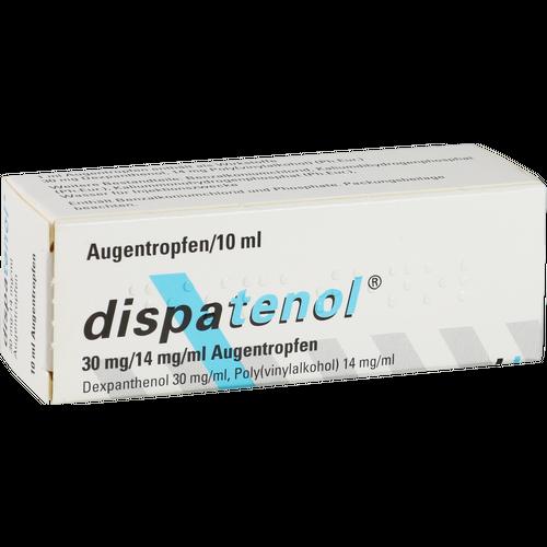 Verpackungsbild(Packshot) von DISPATENOL Augentropfen