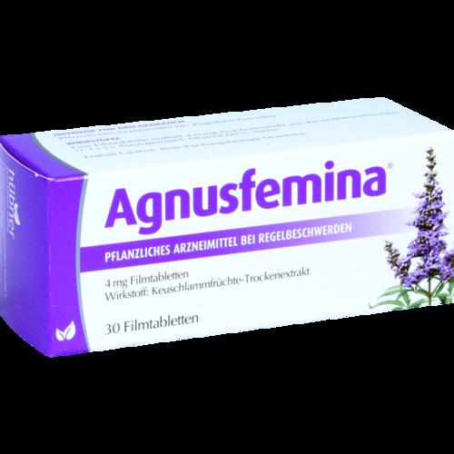 Verpackungsbild(Packshot) von AGNUSFEMINA 4 mg Filmtabletten