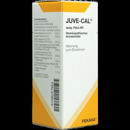 Verpackungsbild(Packshot) von JUVE-CAL spag.Peka NR Tropfen
