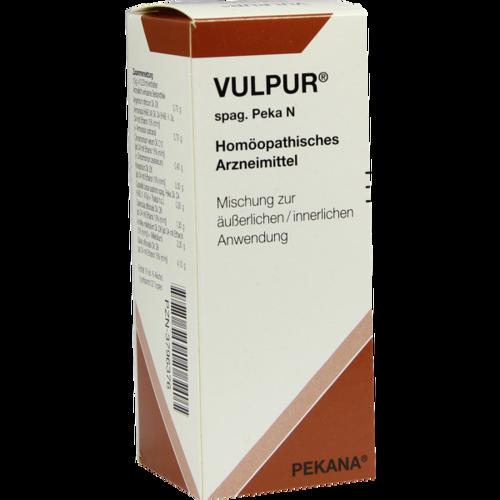 Verpackungsbild(Packshot) von VULPUR spag.Peka N Tropfen