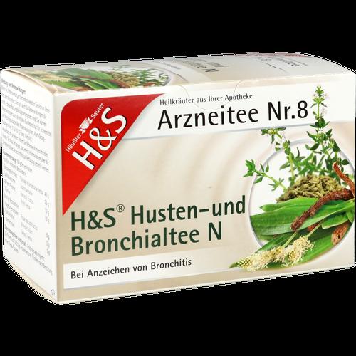 Verpackungsbild(Packshot) von H&S Husten- und Bronchialtee N Filterbeutel