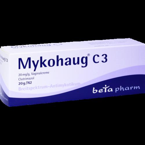 Verpackungsbild(Packshot) von MYKOHAUG C 3 Vaginalcreme
