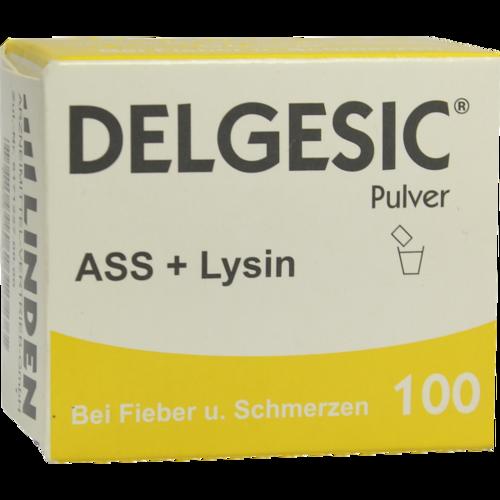 Verpackungsbild(Packshot) von DELGESIC 100 Pulver
