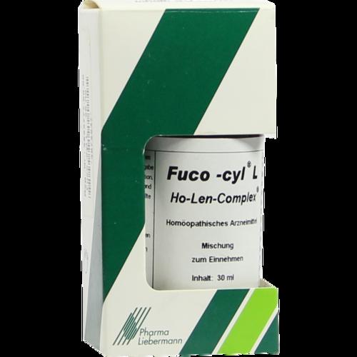 Verpackungsbild(Packshot) von FUCO-CYL L Ho-Len-Complex Tropfen