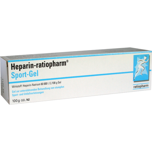 Verpackungsbild(Packshot) von HEPARIN-RATIOPHARM Sport Gel
