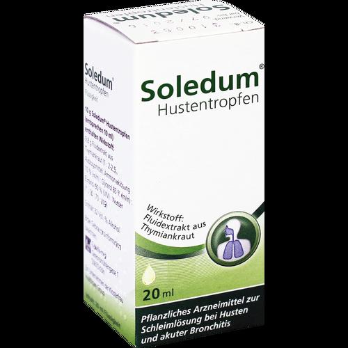 Verpackungsbild(Packshot) von SOLEDUM Hustentropfen