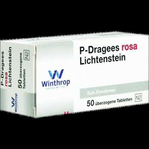 Verpackungsbild(Packshot) von P DRAGEES rosa