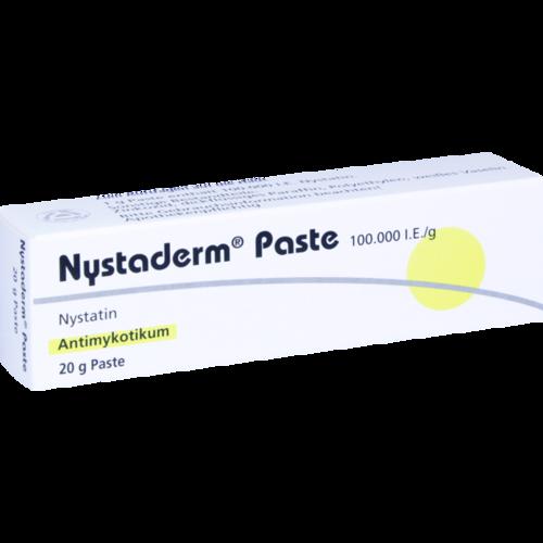 Verpackungsbild(Packshot) von NYSTADERM Paste
