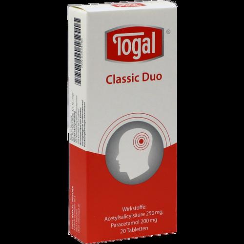 Verpackungsbild(Packshot) von TOGAL Classic Duo Tabletten
