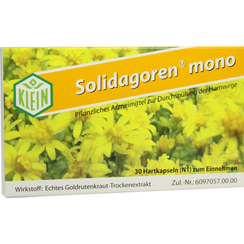 Verpackungsbild(Packshot) von SOLIDAGOREN mono Kapseln