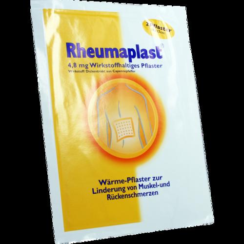 Verpackungsbild(Packshot) von RHEUMAPLAST 4,8 mg wirkstoffhaltiges Pflaster