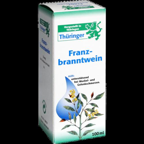 Verpackungsbild(Packshot) von THÜRINGER Franzbranntwein Lösung