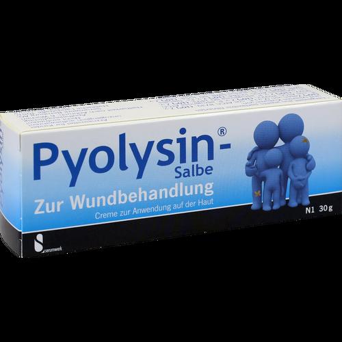 Verpackungsbild(Packshot) von PYOLYSIN Salbe