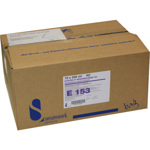 Verpackungsbild(Packshot) von ELEKTROLYT Inf.-Lsg. 153 PP-Btl.