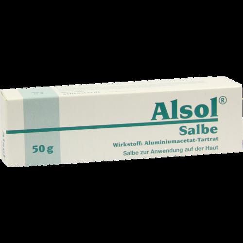Verpackungsbild(Packshot) von ALSOL Salbe