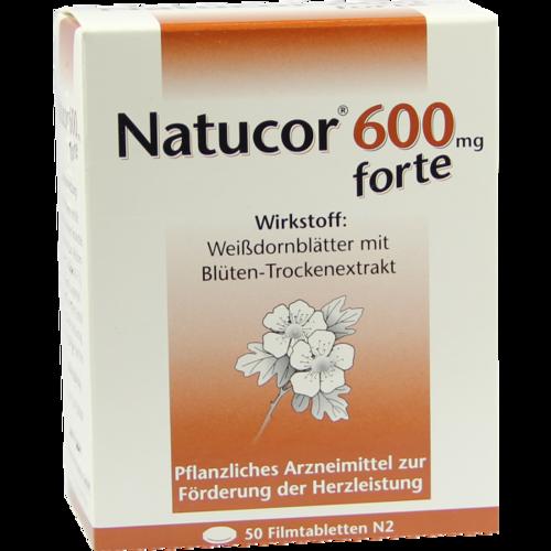 Verpackungsbild(Packshot) von NATUCOR 600 mg forte Filmtabletten