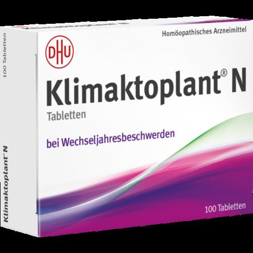 Verpackungsbild(Packshot) von KLIMAKTOPLANT N Tabletten