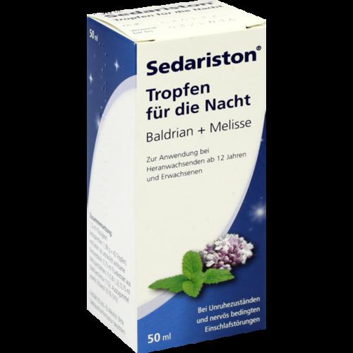 Verpackungsbild(Packshot) von SEDARISTON Tropfen f.d.Nacht