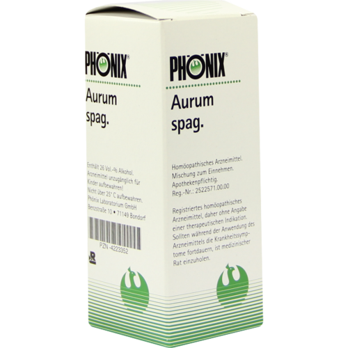 Verpackungsbild(Packshot) von PHÖNIX AURUM spag.Mischung