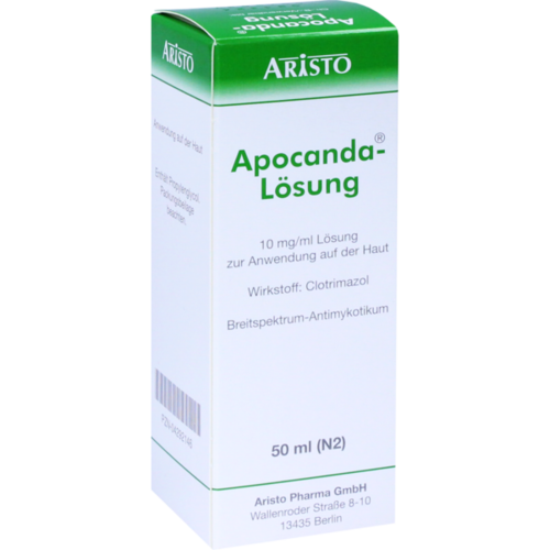 Verpackungsbild(Packshot) von APOCANDA Lösung