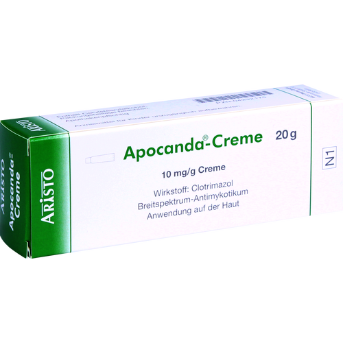 Verpackungsbild(Packshot) von APOCANDA Creme