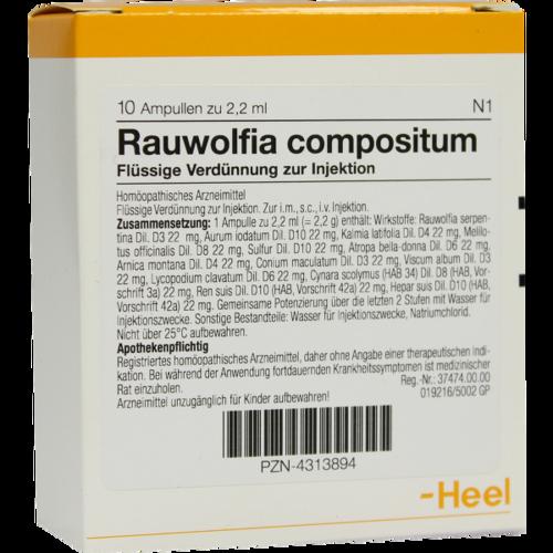Verpackungsbild(Packshot) von RAUWOLFIA COMPOSITUM Ampullen