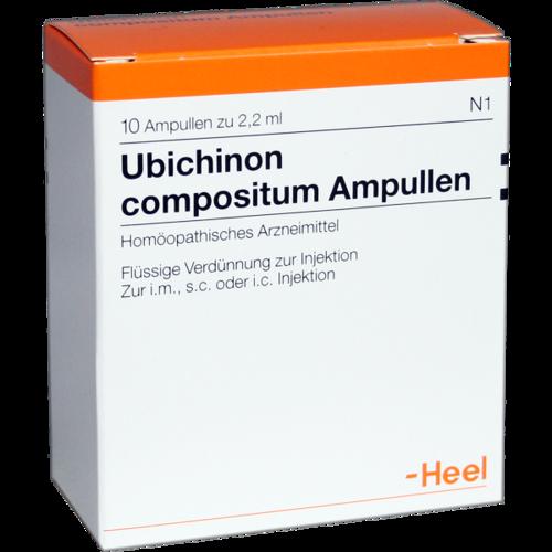 Verpackungsbild(Packshot) von UBICHINON comp.Ampullen