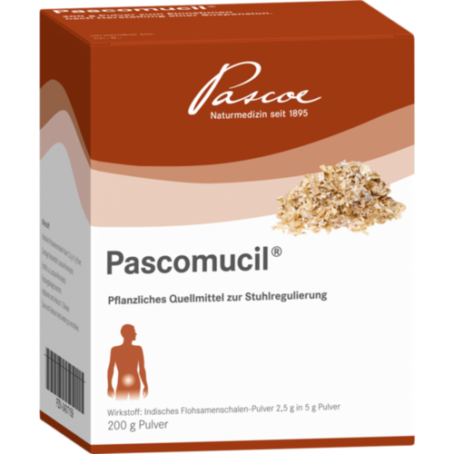 Verpackungsbild(Packshot) von PASCOMUCIL Pulver