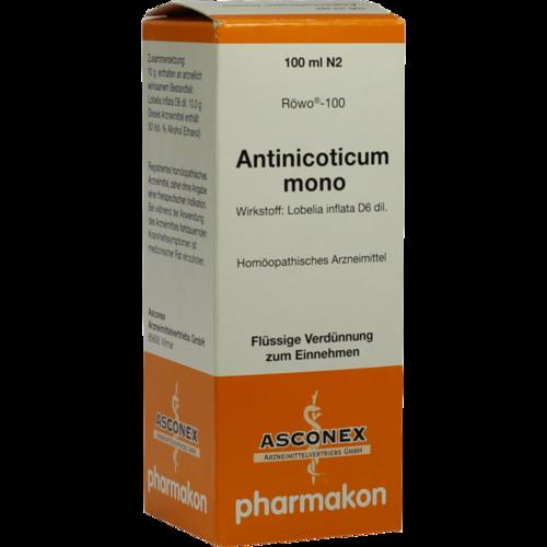 Verpackungsbild(Packshot) von ANTINICOTICUM mono Tropfen
