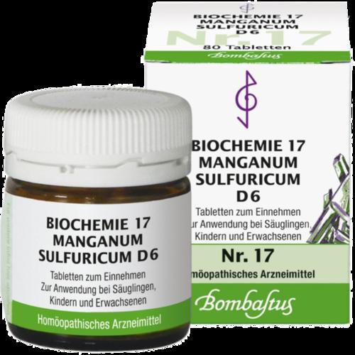 Verpackungsbild(Packshot) von BIOCHEMIE 17 Manganum sulfuricum D 6 Tabletten