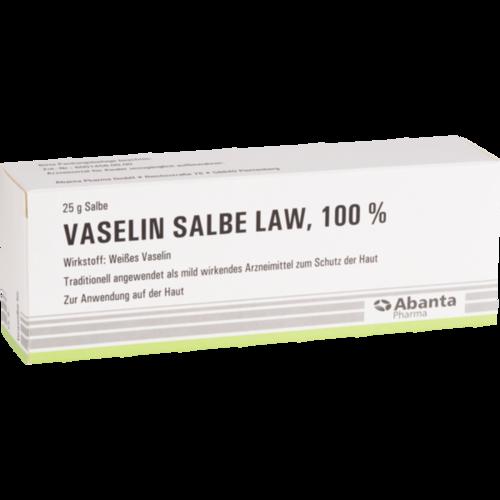 Verpackungsbild(Packshot) von VASELIN Salbe LAW