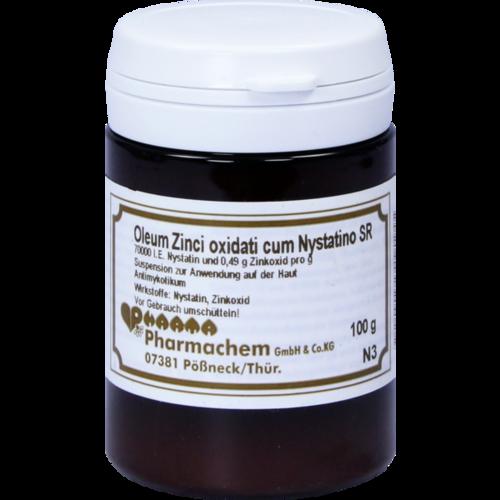 Verpackungsbild(Packshot) von OLEUM ZINCI oxidati cum Nystatino SR