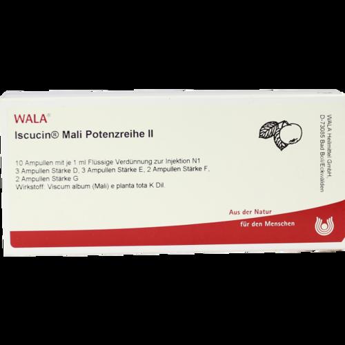 Verpackungsbild(Packshot) von ISCUCIN mali Potenzreihe II Ampullen