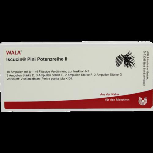 Verpackungsbild(Packshot) von ISCUCIN pini Potenzreihe II Ampullen