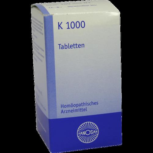 Verpackungsbild(Packshot) von K 1000 Tabletten