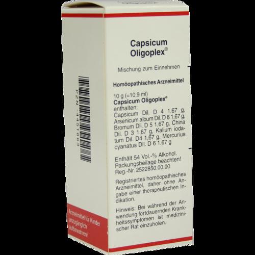 Verpackungsbild(Packshot) von CAPSICUM OLIGOPLEX Liquidum