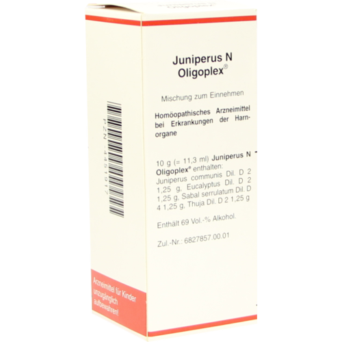 Verpackungsbild(Packshot) von JUNIPERUS N Oligoplex Liquidum