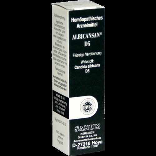 Verpackungsbild(Packshot) von ALBICANSAN D 5 Tropfen