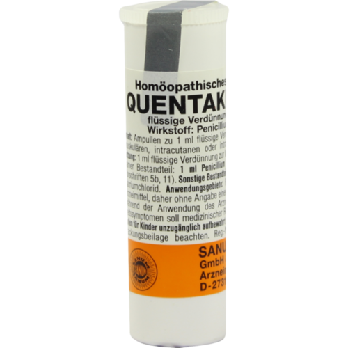 Verpackungsbild(Packshot) von QUENTAKEHL D 5 Ampullen