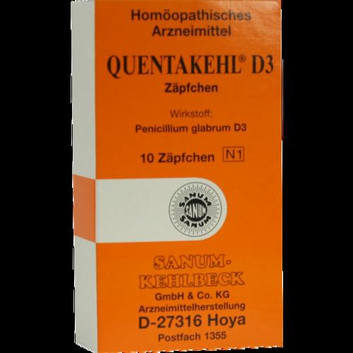 Verpackungsbild(Packshot) von QUENTAKEHL D 3 Suppositorien