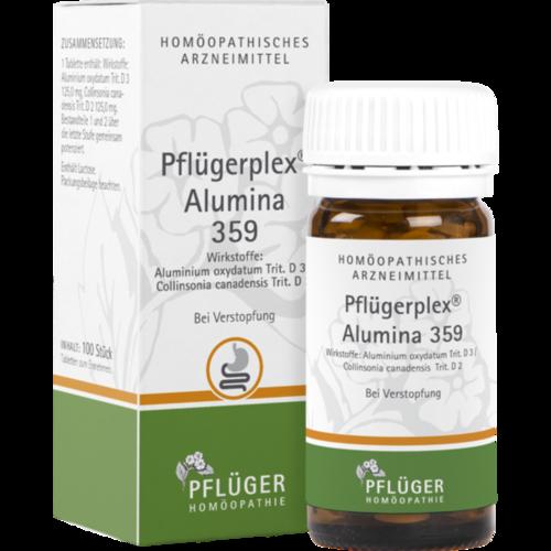 Verpackungsbild(Packshot) von PFLÜGERPLEX Alumina 359 Tabletten