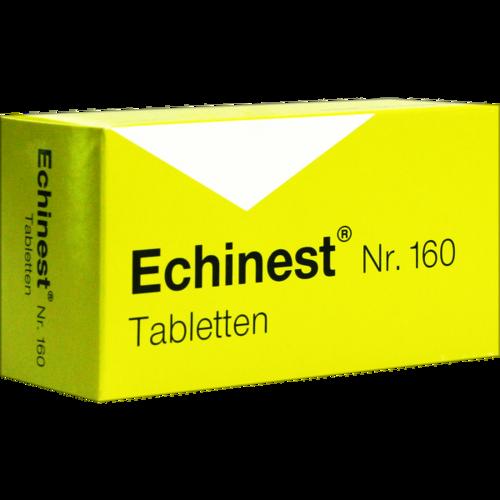 Verpackungsbild(Packshot) von ECHINEST Nr.160 Tabletten