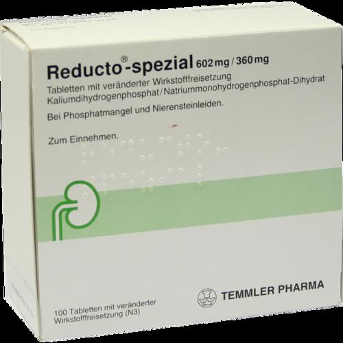 Verpackungsbild(Packshot) von REDUCTO Spezial überzogene Tabletten